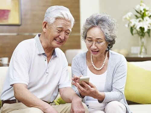 Người đang hưởng lương hưu hàng tháng có hưởng trợ cấp cao tuổi