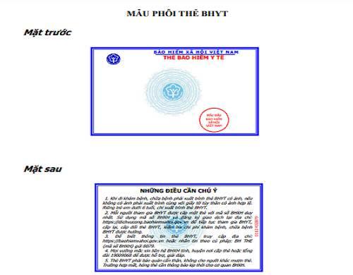 Tải Quyết định 1666/QĐ-BHXH, ban hành mẫu thẻ BHYT mới từ 01/04/2021