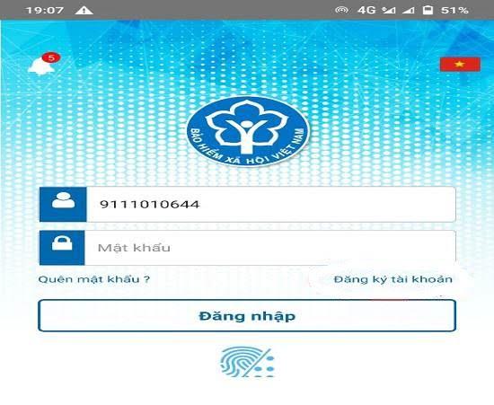 đăng ký vssid cho học sinh trên điện t hoại