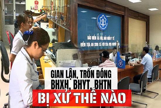 Hành vi trốn đóng BHXH, BHYT, BHTN cho người lao động sẽ bị xử lý như thế nào?